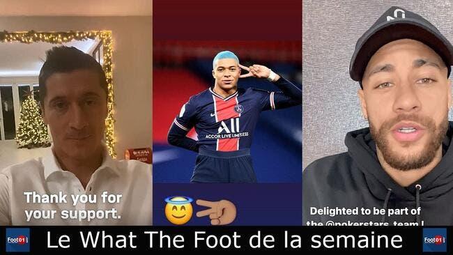 WTF : La plus belle Miss France est pour Thauvin, Neymar se moque de Mbappé