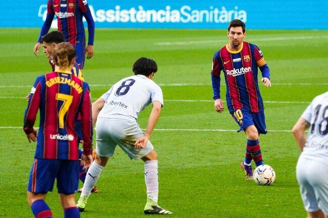 Esp : Messi en pleine déprime, Barcelone rassure