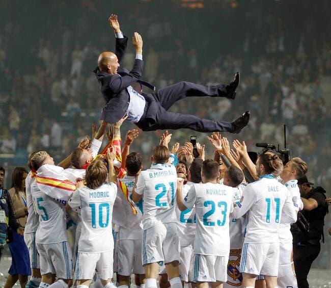 UEFA : Le Real Madrid roi d'Europe, l'OL devant le PSG