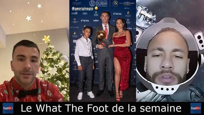 Cristiano Ronaldo roi du foot, Neymar s'éclate, Mbappé en mode Noël