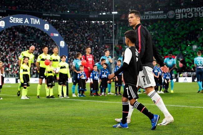 Ita : Cristiano Ronaldo est sans pitié avec Cristiano Jr