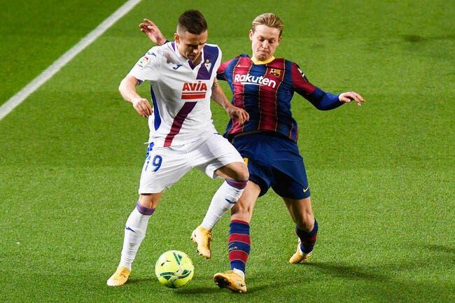 Liga : Barcelone ne bat pas Eibar