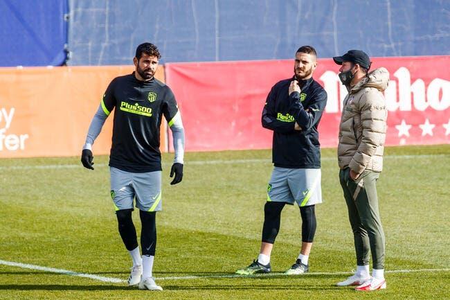 Officiel : L'Atlético Madrid largue Diego Costa !