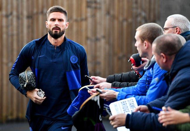 France : Giroud bloqué par Chelsea