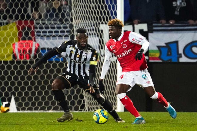 Angers - Reims : 1-4