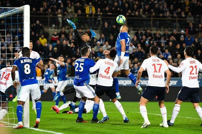 Strasbourg - Lille : 1-2