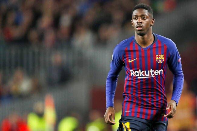 Esp : Ousmane Dembélé inquiète encore le FC Barcelone