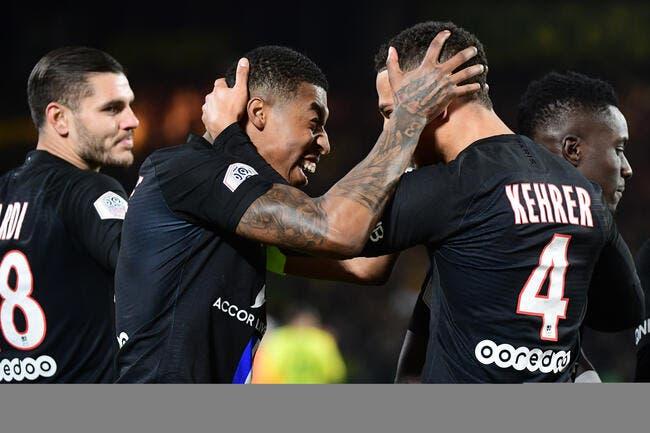 Kimpembe fait trembler le PSG à Nantes