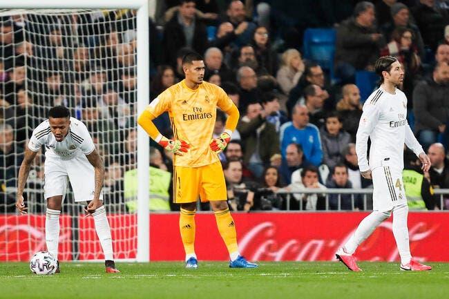 Esp : Le Real Madrid sorti de la Coupe du Roi, Areola accusé
