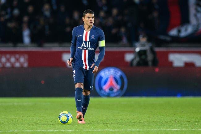 PSG : Leonardo a tranché, Thiago Silva peut faire ses cartons