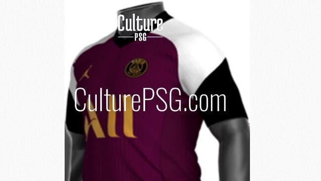 PSG : Paris jouera avec un maillot bordeaux à la sauce qatarie