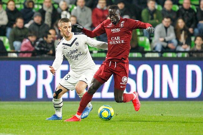 Metz - Bordeaux : 1-2