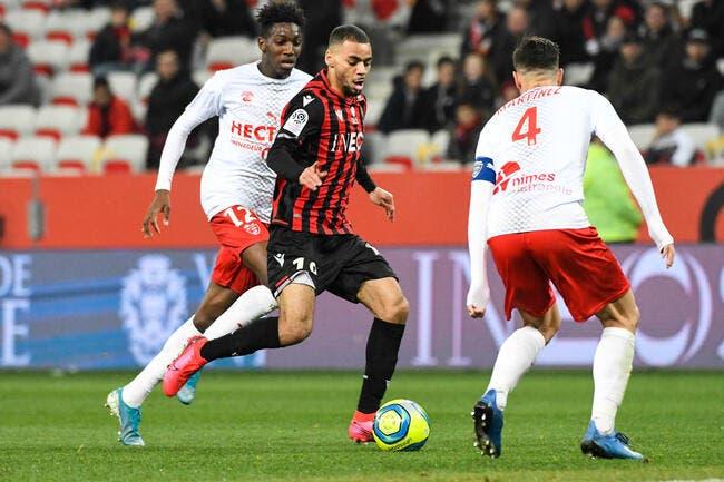 Nice - Nîmes : 1-3