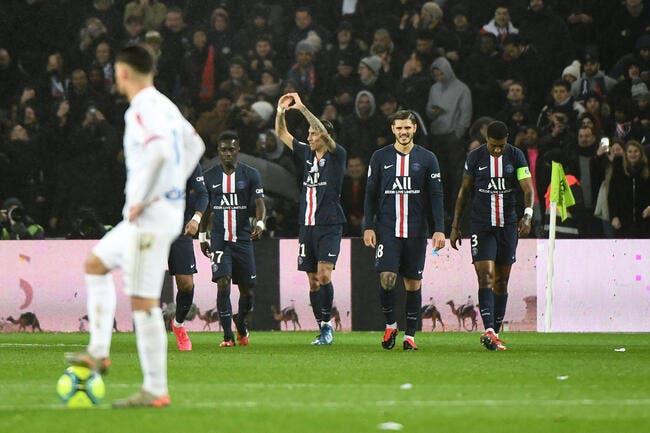L1 : 4-2, le score du PSG qui fait mal à l'OL !