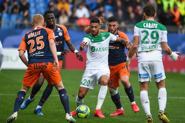 Montpellier enfonce l'ASSE dans la crise