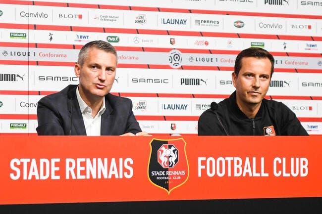 Rennes : Stephan dément avoir voulu la peau de Létang