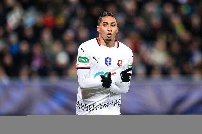 CdF : Raphinha porte Rennes, l'aventure continue