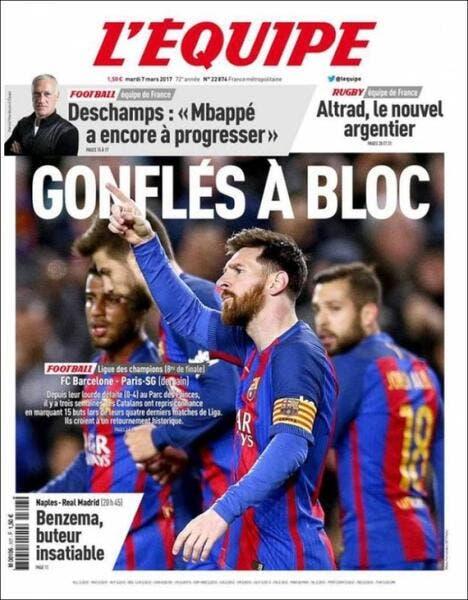 PSG : Mis sous pression, L'Equipe évoque sa Une polémique