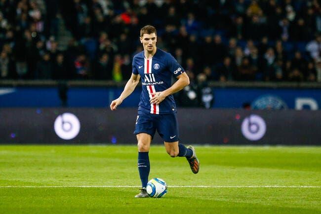 PSG :«Meunier tu dors», Meunier préfère l'humour à Marseille