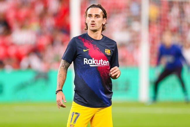 Esp: Le Barça prêt à sacrifier Griezmann, pas pour Neymar