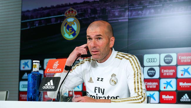 LdC : Zidane évite la provocation contre City et Guardiola