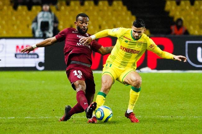 Nantes - Metz : 0-0