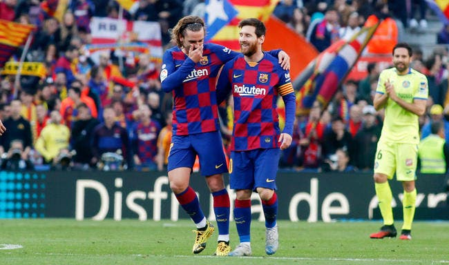 Esp : Griezmann et Messi, pas de jalousie, que de l'amour