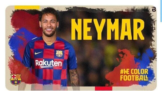 PSG : Neymar de retour au Barça, Barcelone piraté !