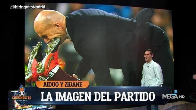 Esp : Zidane, l'incroyable image d'un tacle involontaire
