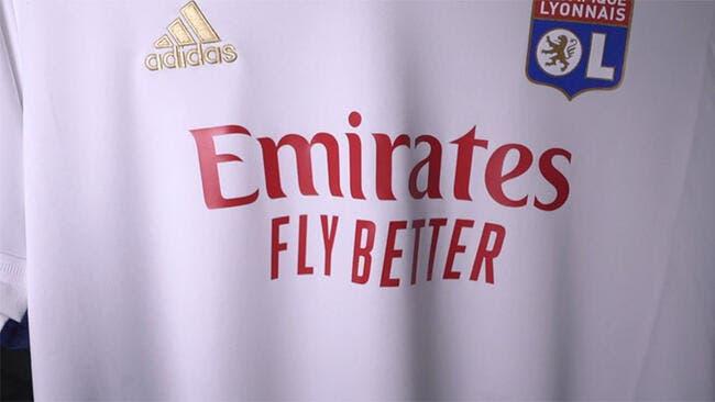 OL : Fly Emirates fait le ménage sur le maillot de Lyon