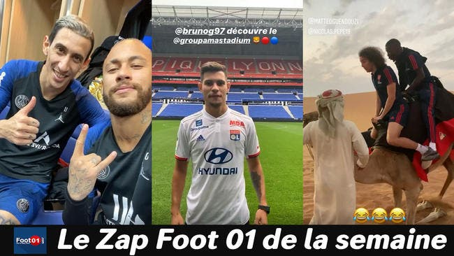 WTF : Neymar et Mbappé font les beaux gosses, le show Guimaraes