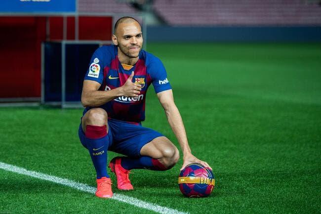 Esp : Braithwaite avec Messi, ça va tout casser à Barcelone