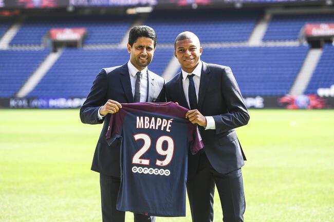 PSG : Mbappé à Paris jusqu'en 2022, l'Emir ferme la porte
