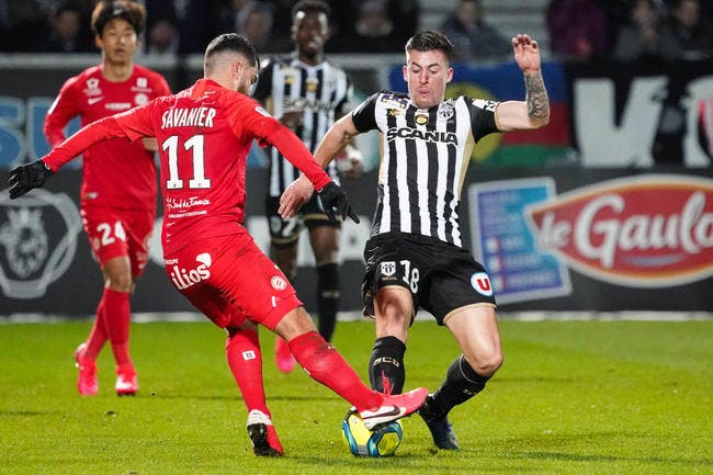 Angers - Montpellier : 1-0