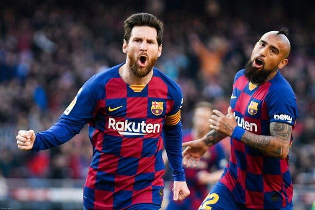 Esp : Un quadruplé signé Messi, le Barça cartonne