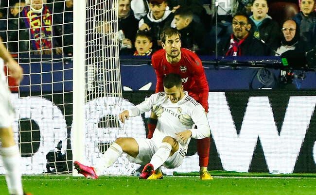Esp : Eden Hazard forfait contre City et absent 2 mois ?