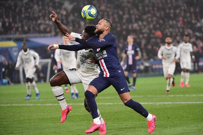 PSG : Neymar expulsé à la dernière minute contre Bordeaux