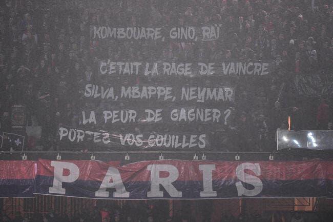 PSG : Tuchel sifflé, des banderoles musclées, le Parc gronde