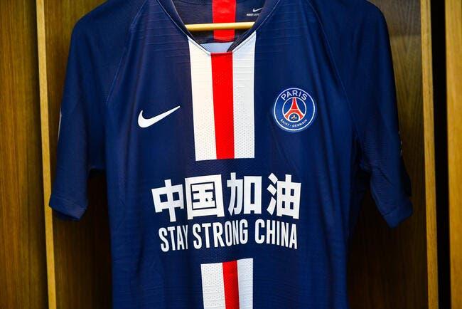 PSG : Un maillot de soutien à la Chine pour Neymar et ses coéquipiers