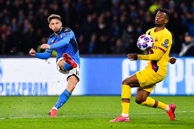 Naples - FC Barcelone : 1-1