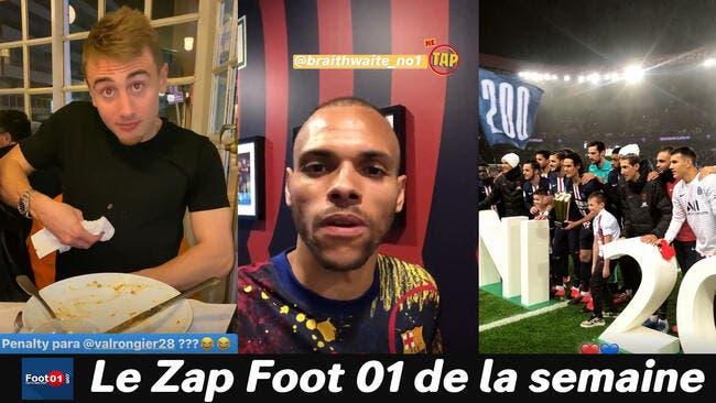 WTF : 200e but pour Cavani, Neymar zappe le Carnaval, incroyable Braithwaite