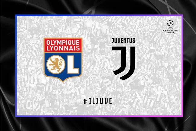 OL - Juventus : Les compos (21h sur RMC1)