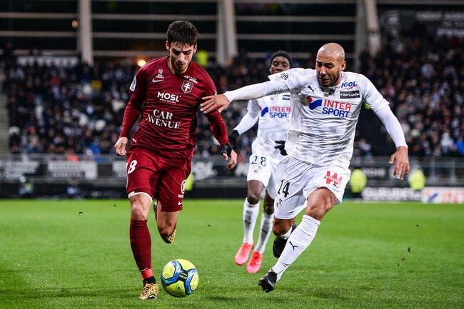 Amiens - Metz : 0-1
