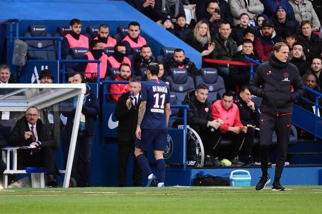 PSG : Di Maria sort sur blessure, Paris tremble