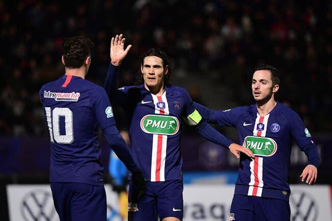 CDF : 6-0, le PSG commence l'année 2020 en fanfare !
