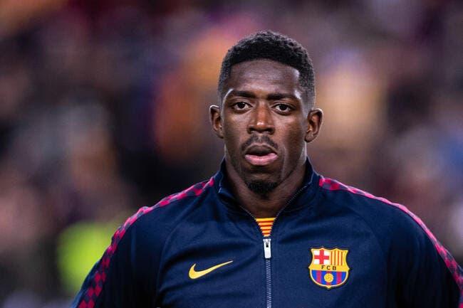 Esp : Un «like» de Dembélé met le feu à Barcelone !