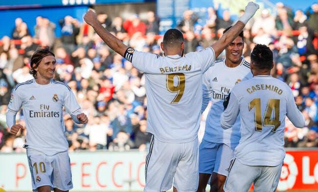 Revivez les buts du Real Madrid face à Valence — Supercoupe