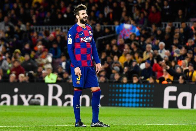 Esp: C'est l'enfer avec Piqué, le Barça prend une mesure radicale