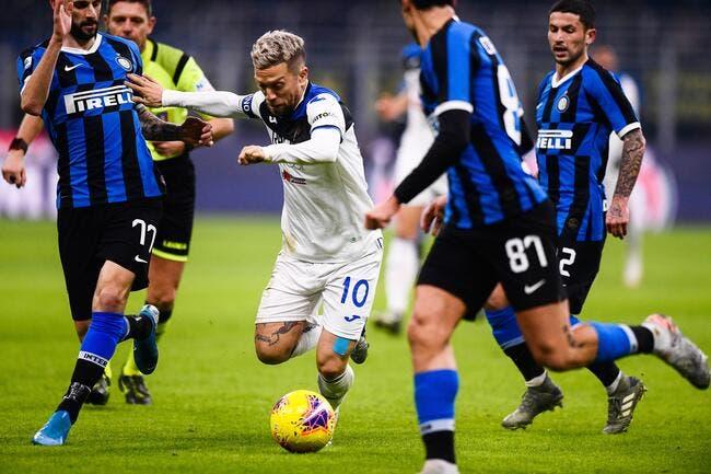 Ita : L'Inter neutralisé par l'Atalanta