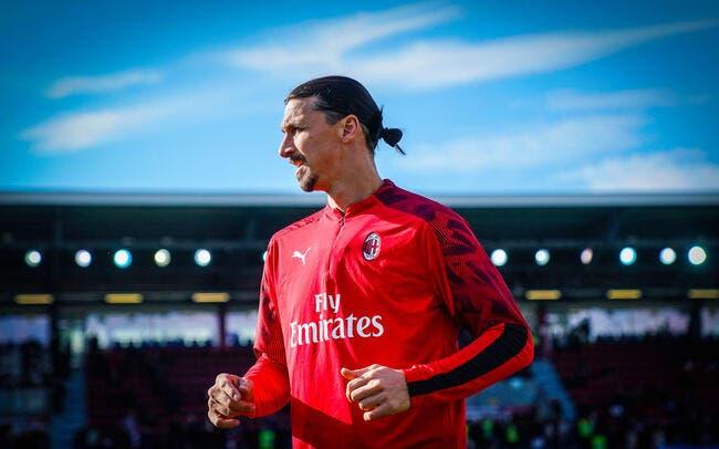 Ita : Zlatan Ibrahimovic ouvre son compteur avec l'AC Milan